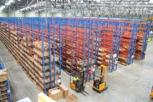 Double Deep Pallet Racking, Warehouse Racking, Warehouse Storage